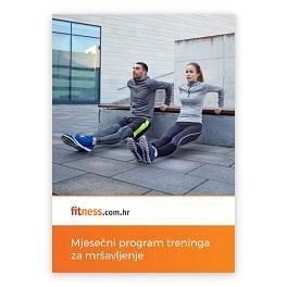 Mjesečni program treninga za mršavljenje