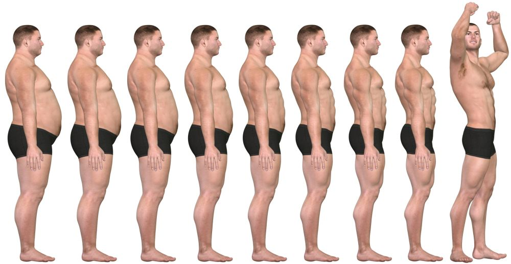 brzo izgubiti postotak tjelesne masti