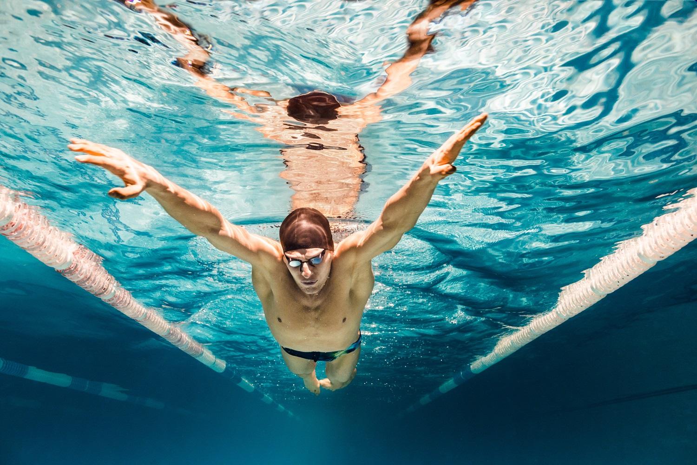 plivanje i skidanje kilograma