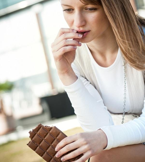 Čokolada i prejedanje