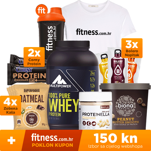Fitness.com.hr nagradni paket