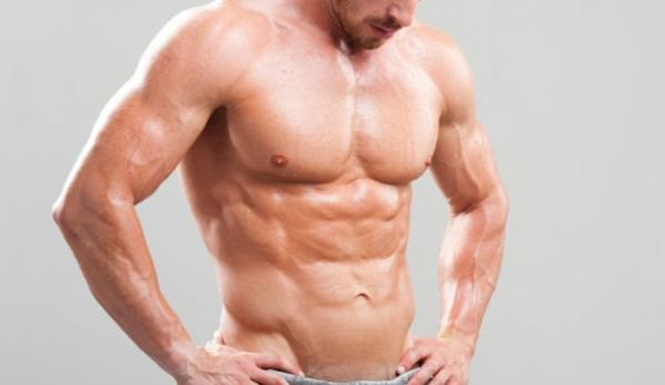 Mišićavi muškarac