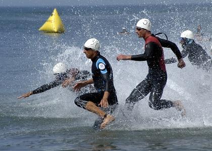 Triatlon - plivanje