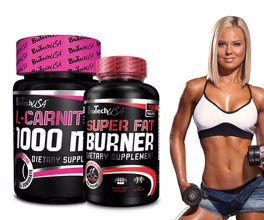 Super Slim paket - L-karnitin + Super Fat Burner