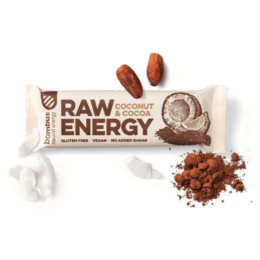 Raw Energy Bar (kokos & kakao) - 50 g