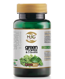 Green Coffee & L-Carnitine - 60 kapsula