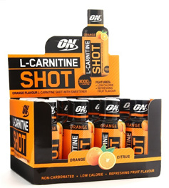 L-carnitine Shot 3000 mg - 12 x 60 ml
