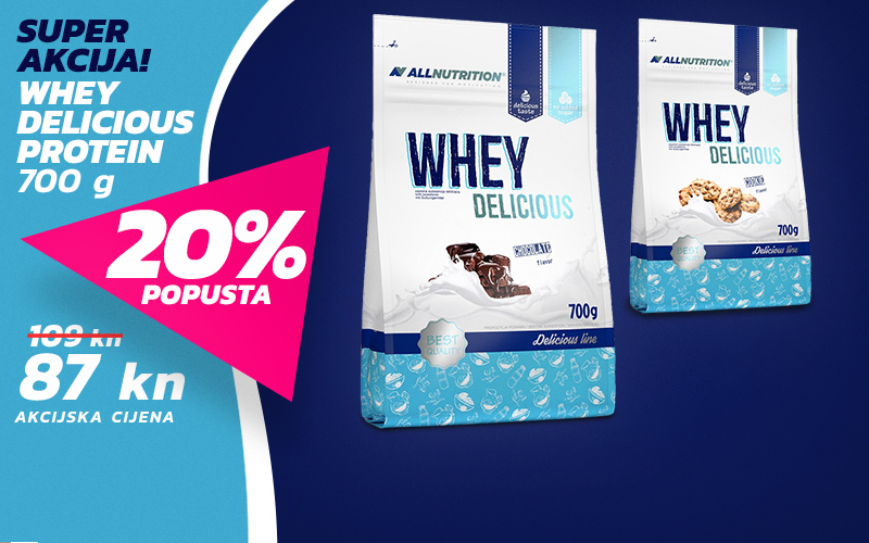 Whey Delicious Protein - 20% popusta