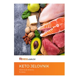 14-dnevni KETO jelovnik za mršavljenje s receptima